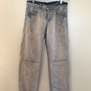 ARMANI EXCHANGE exciting blue jeans